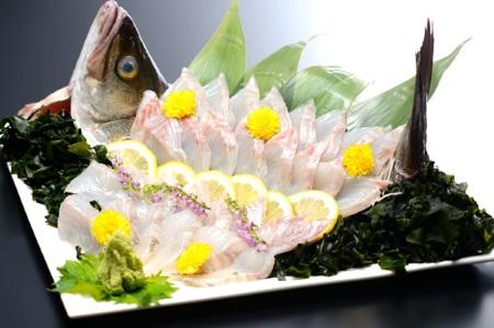 海鮮料理が自慢の宿 南三陸 石巻 気仙沼 海に面したお部屋 眺望露天風呂 女川温泉華夕美 女川温泉華夕美の三陸海鮮料理 魚介海鮮食材 すずき